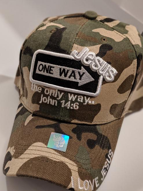 One Way Camo Cap