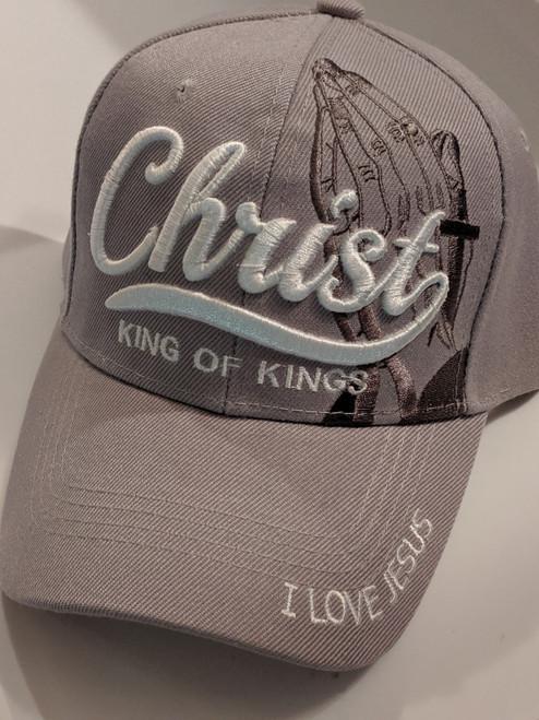 Christ King Of Kings Gray Cap