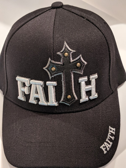 Faith Black Cap