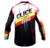 Clice Cero 2018 yellow/red jersey back