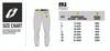 L3 Linez pants sizing chart