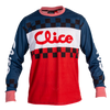 Clice Classic mesh jersey, blue/white/red
