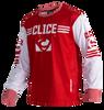 Clice Classic mesh jersey, dark red