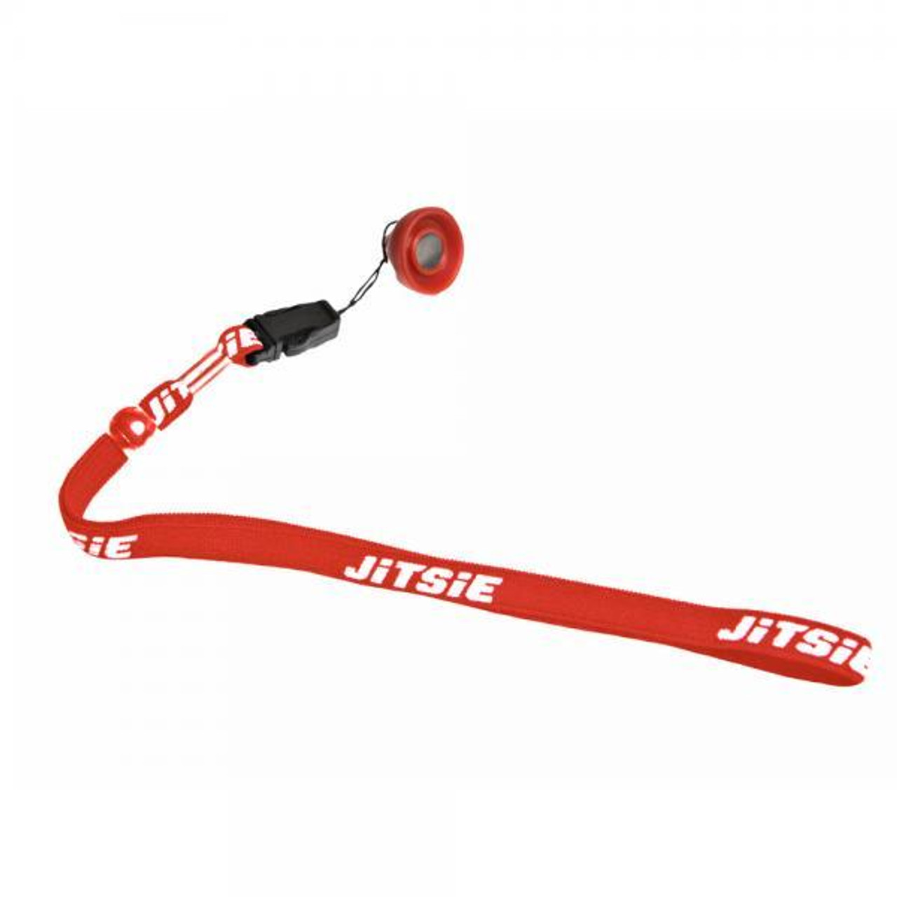 Magnetic lanyard for engine kill button, red