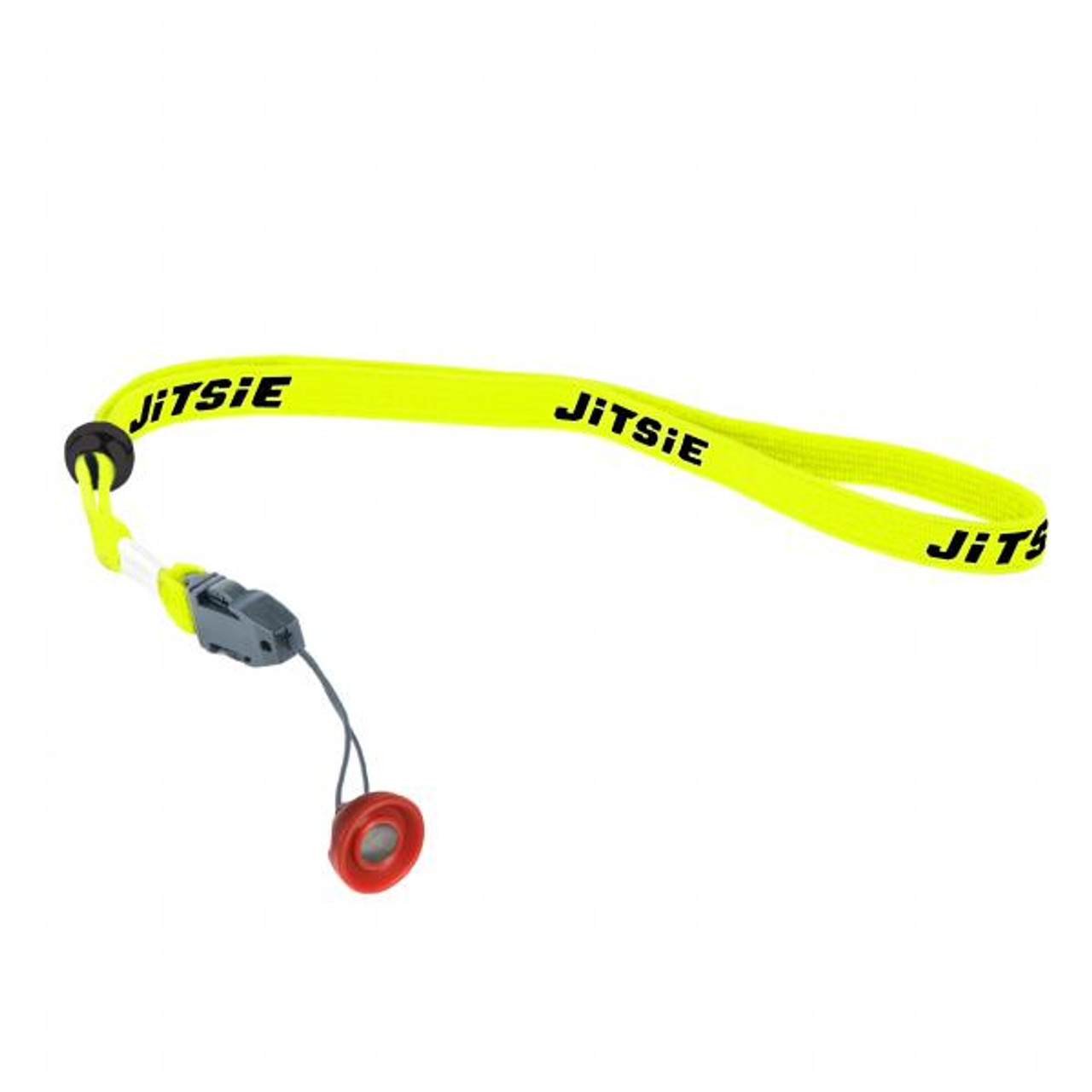 Magnetic lanyard for engine kill button, yellow