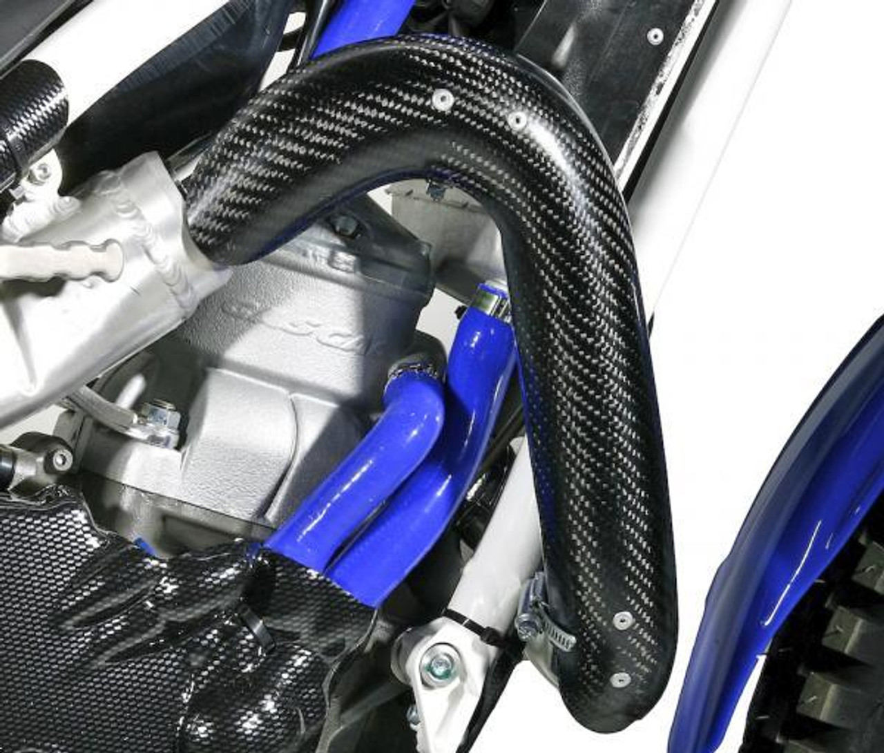 JI205-0202 Carbon fibre exhaust guard