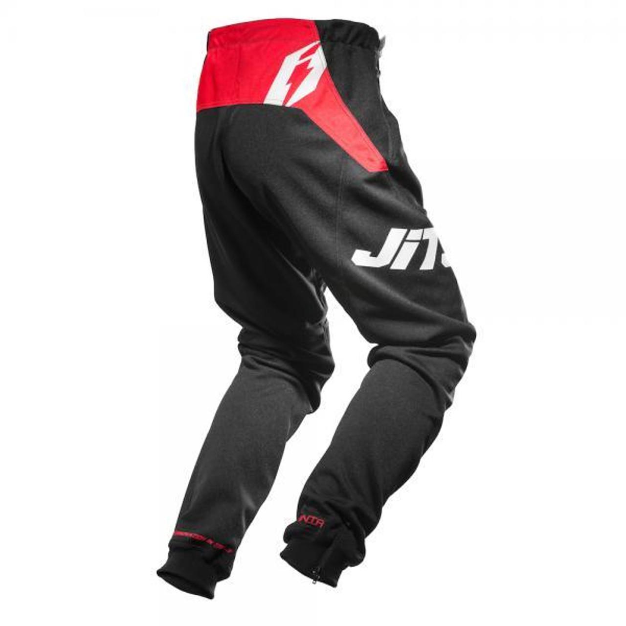 Pants Omnia black/ red