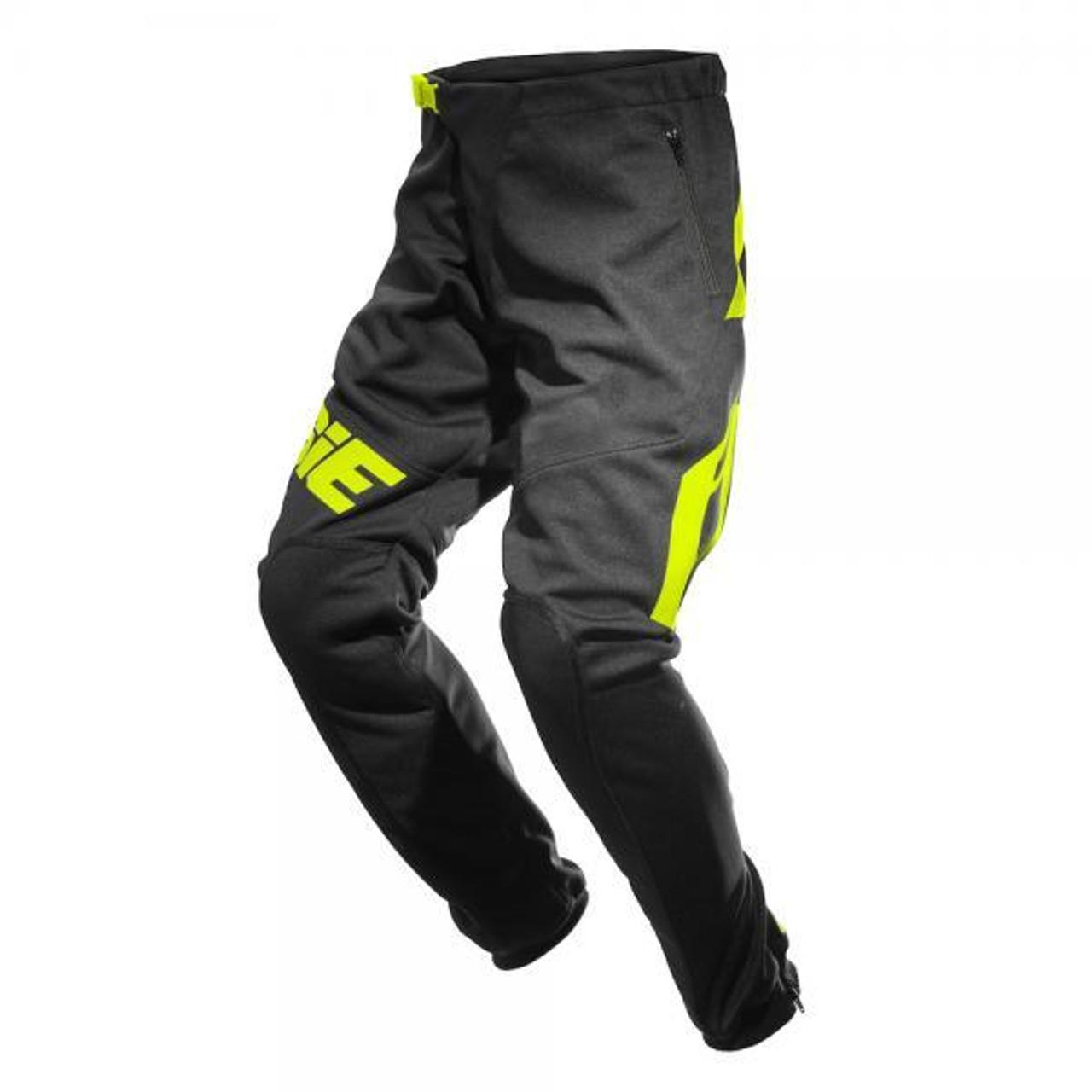 Pants Omnia black/ fluo yellow