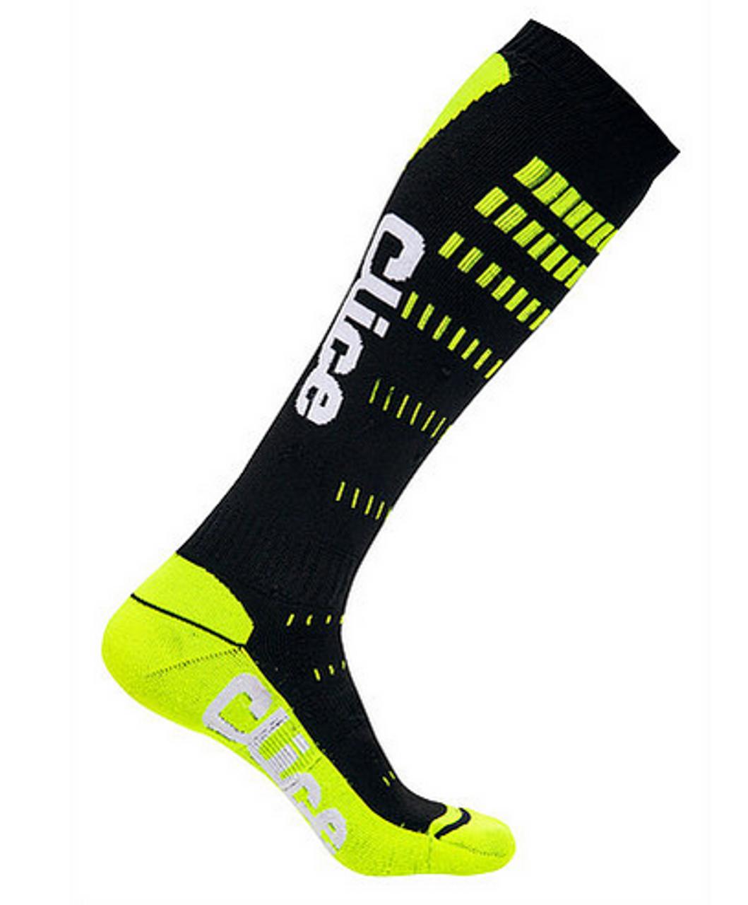 Long socks Clice inside foot