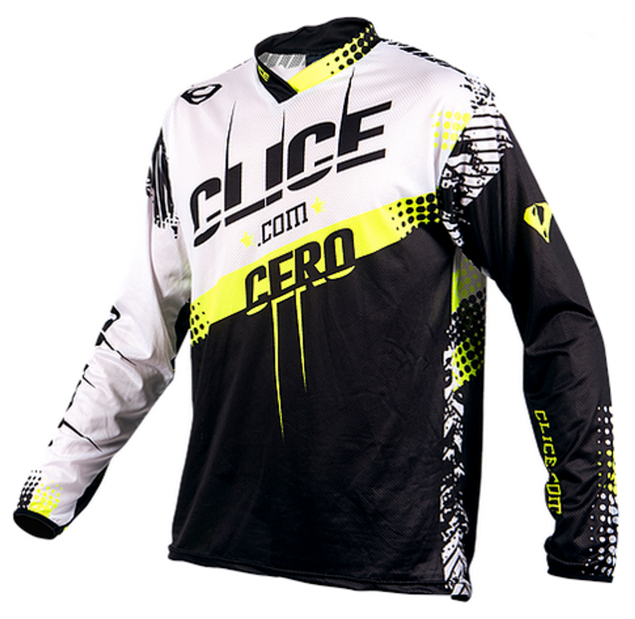 Clice Cero 2018 yellow/black jersey front