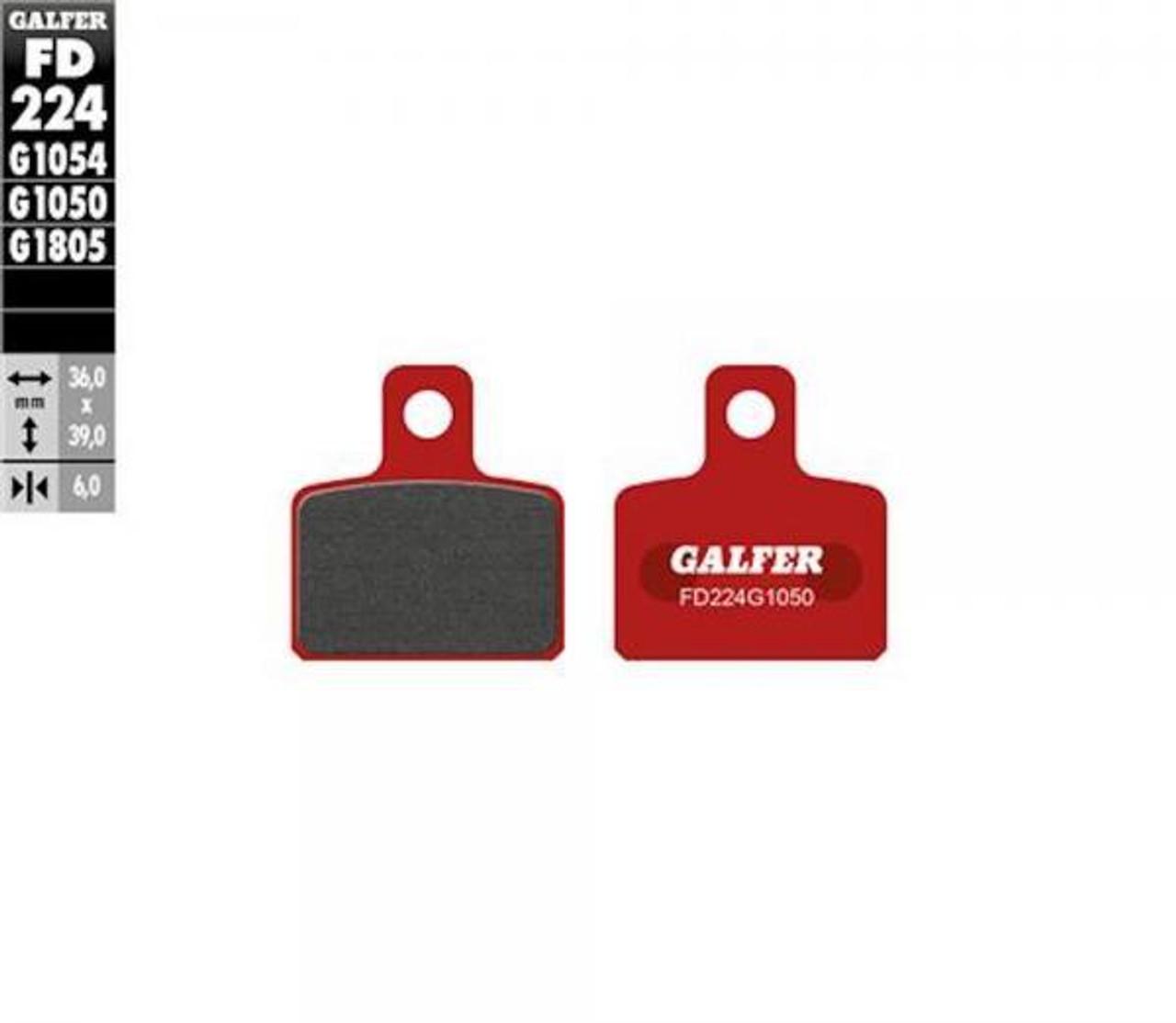 Galfer brake pads AJP/Braktec rear