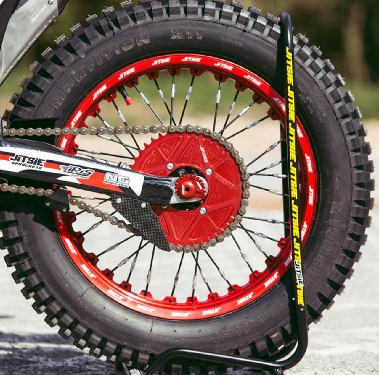 Bike stand,black, with wheel