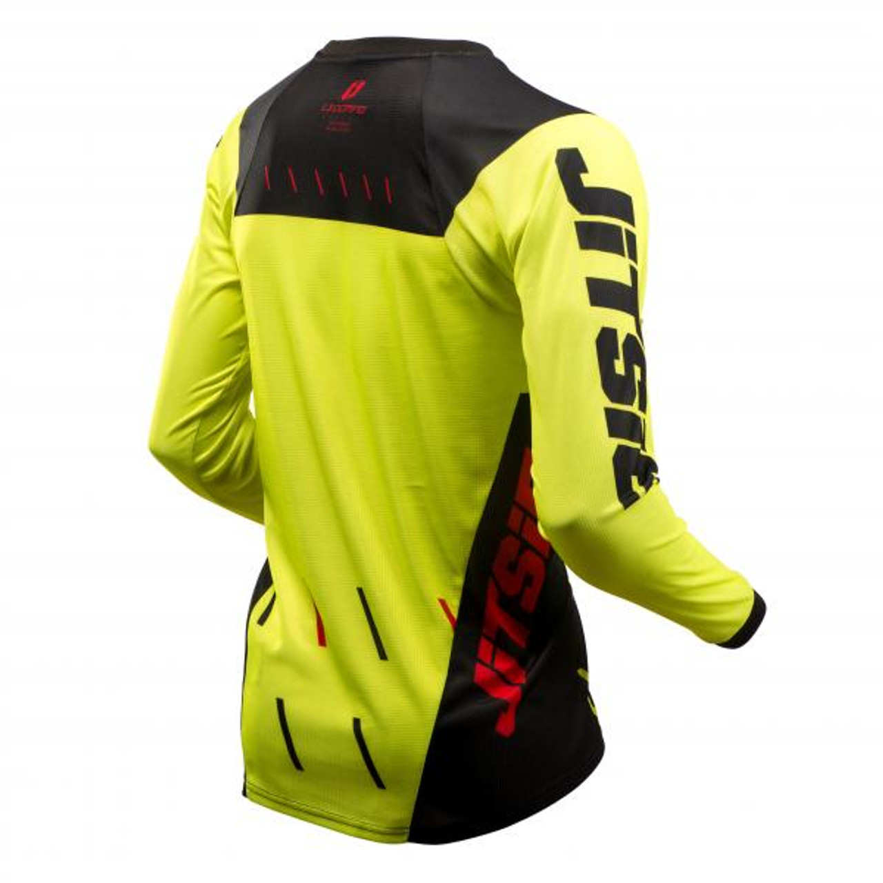 Jersey L3 Domino, black/red/ fluo yellow