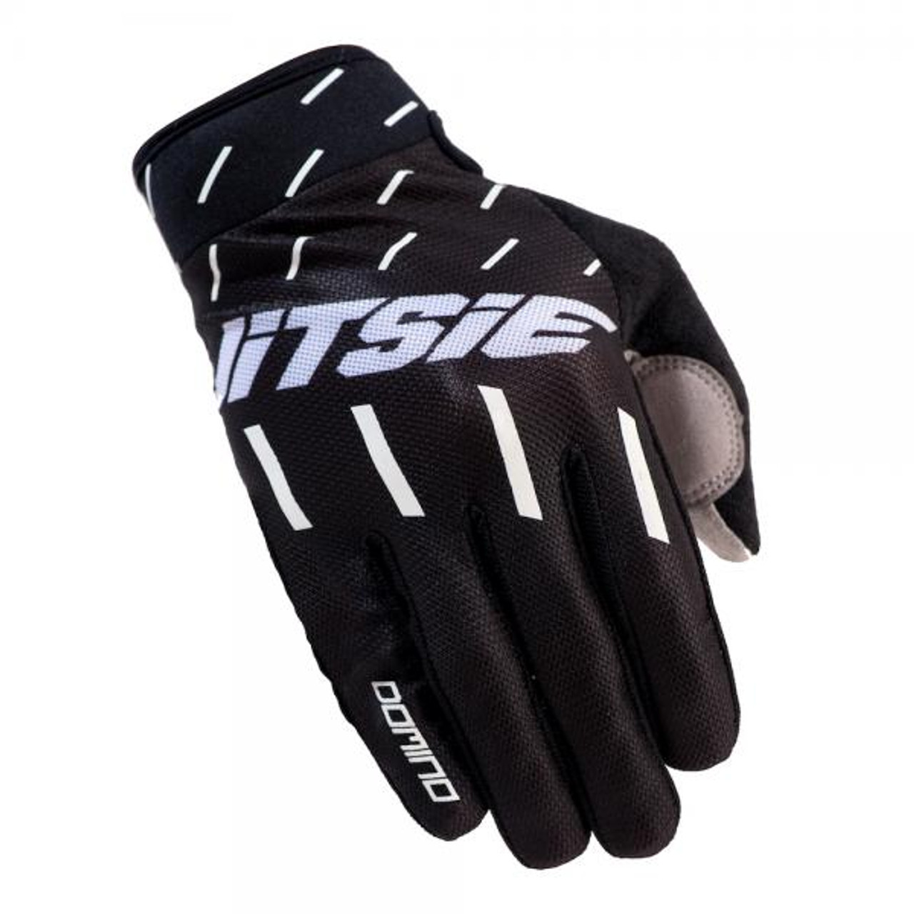 Gloves Domino, black/ white
