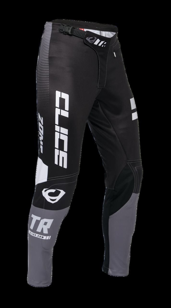 Clice Zone men's trial pants, grey