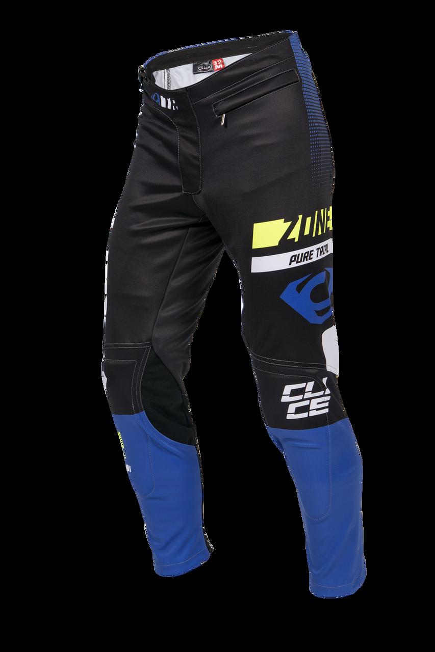 Clice Zone men's trial pants, blue