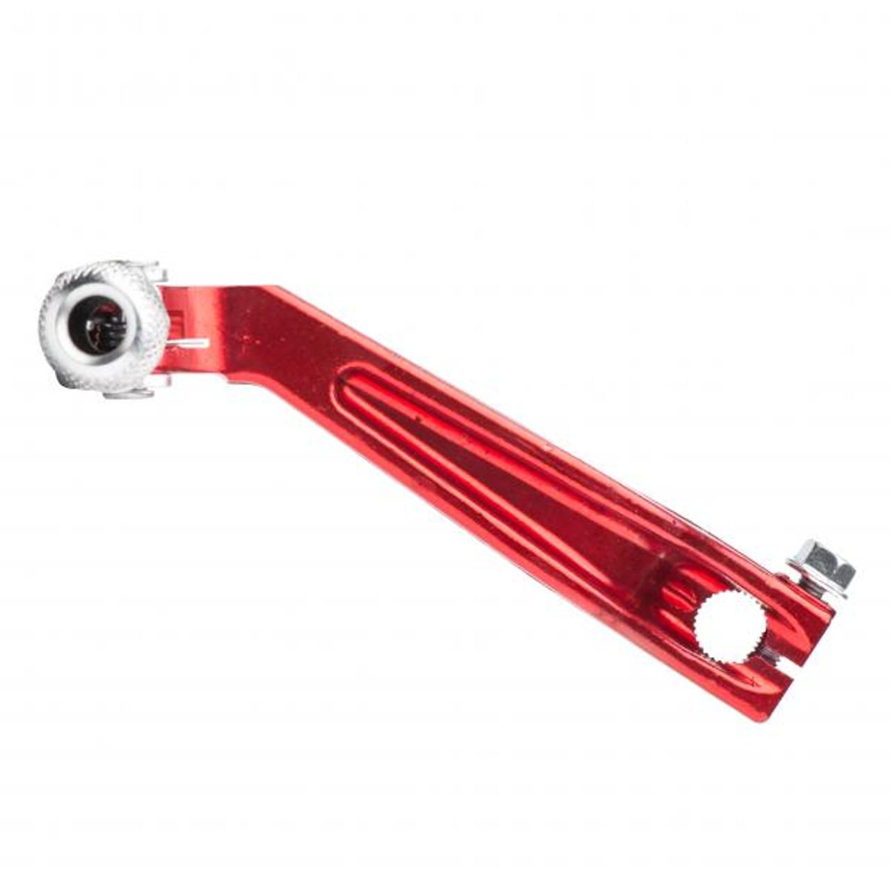 Gear pedal OEM, Montesa, red