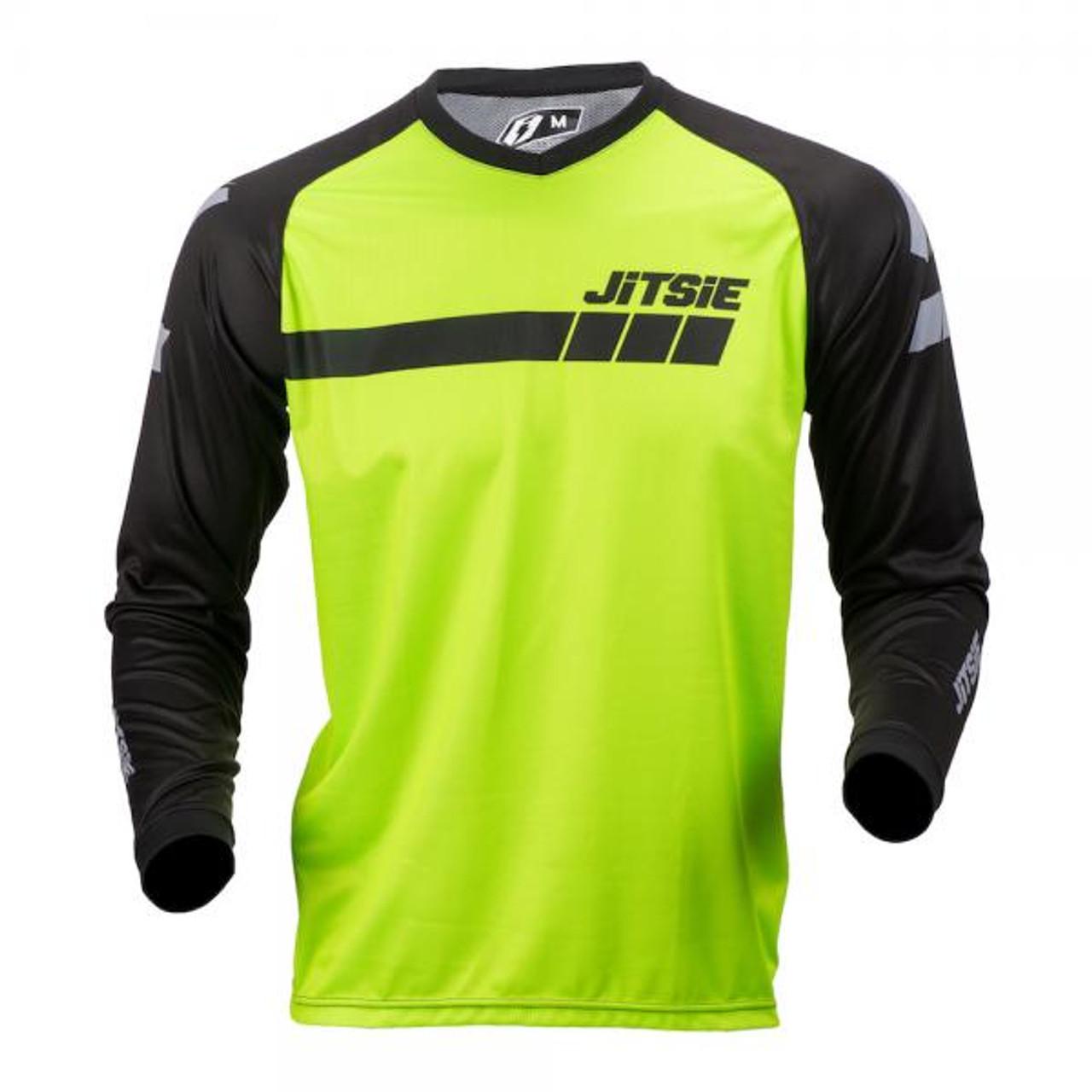 2019 Jersey L3 Triztan black/ fluo green