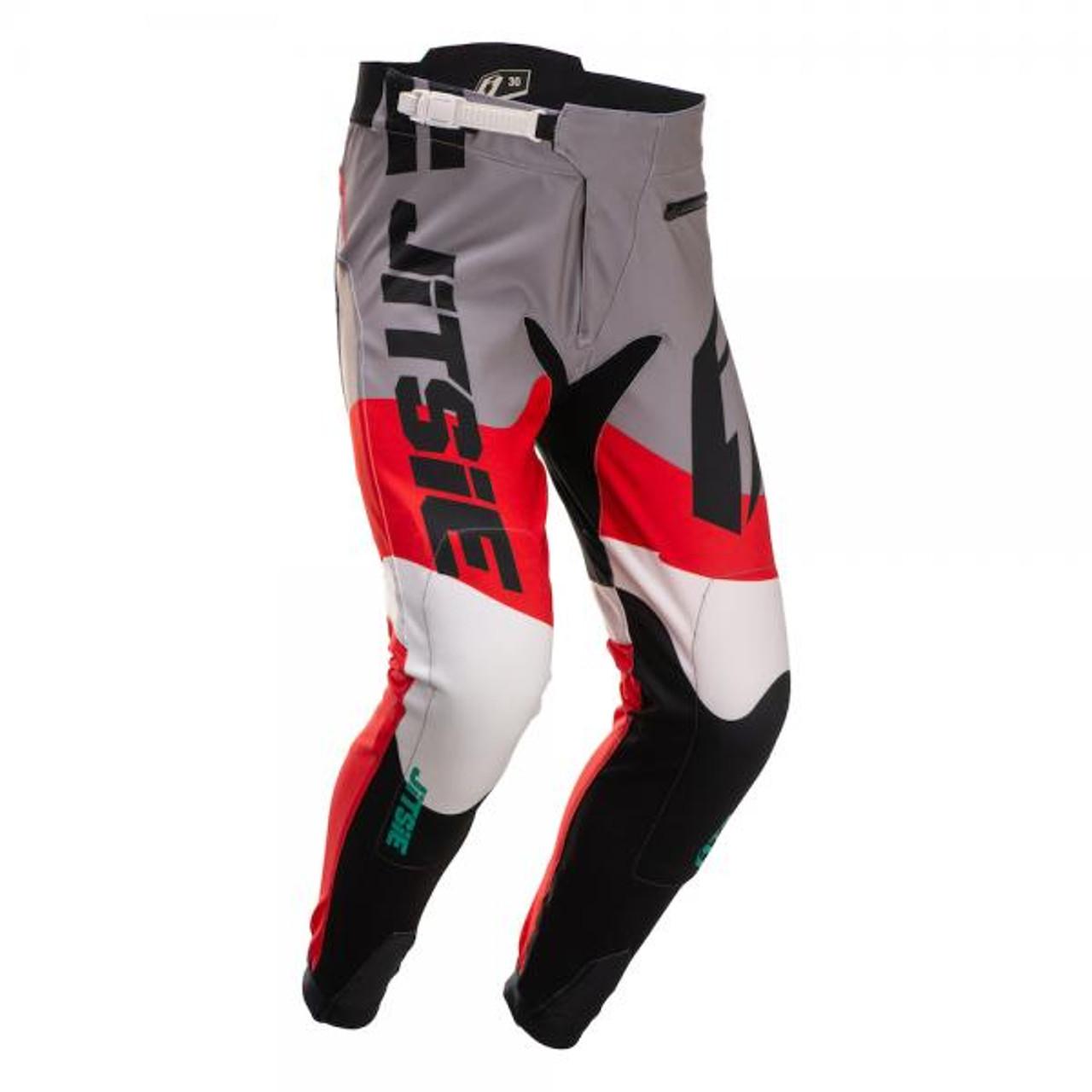 Pants T3 Wave black/ red/ teal