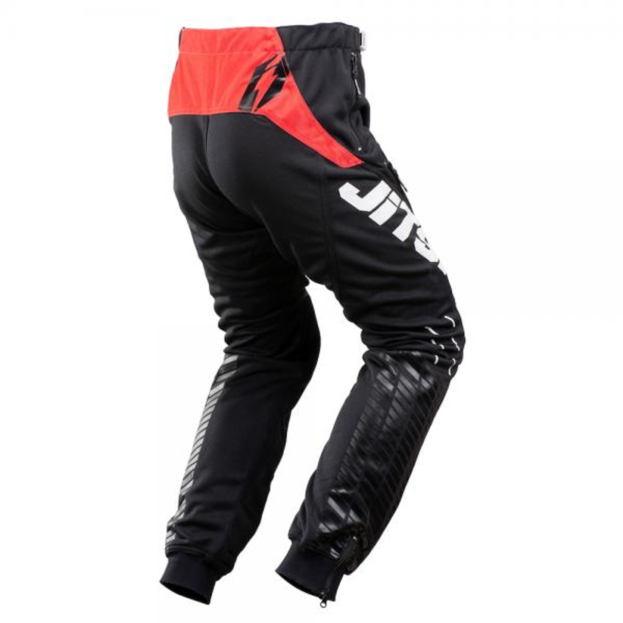 Pants 01 Omnia, black/ red