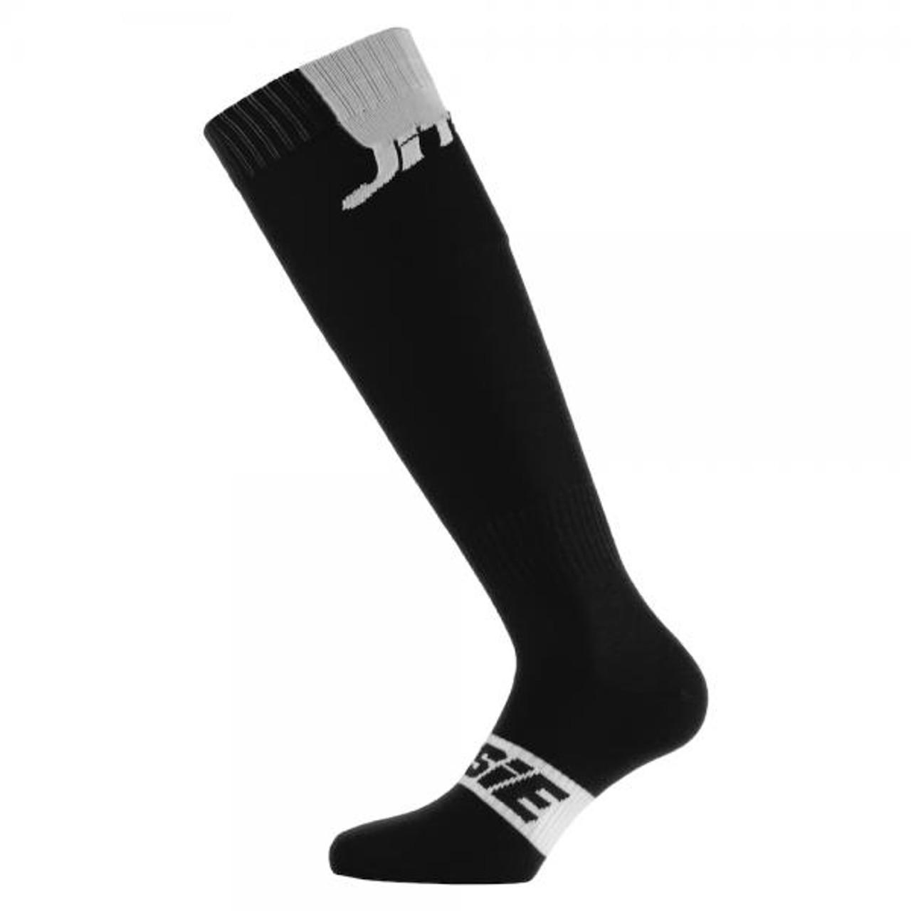 Long socks, black/ white