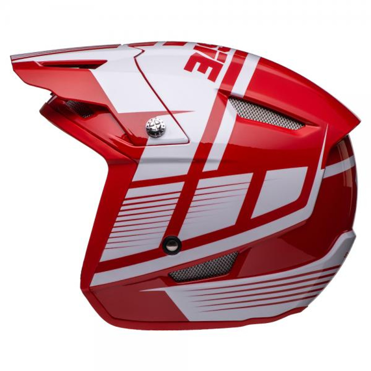 Helmet HT1 Struktur, red/ white