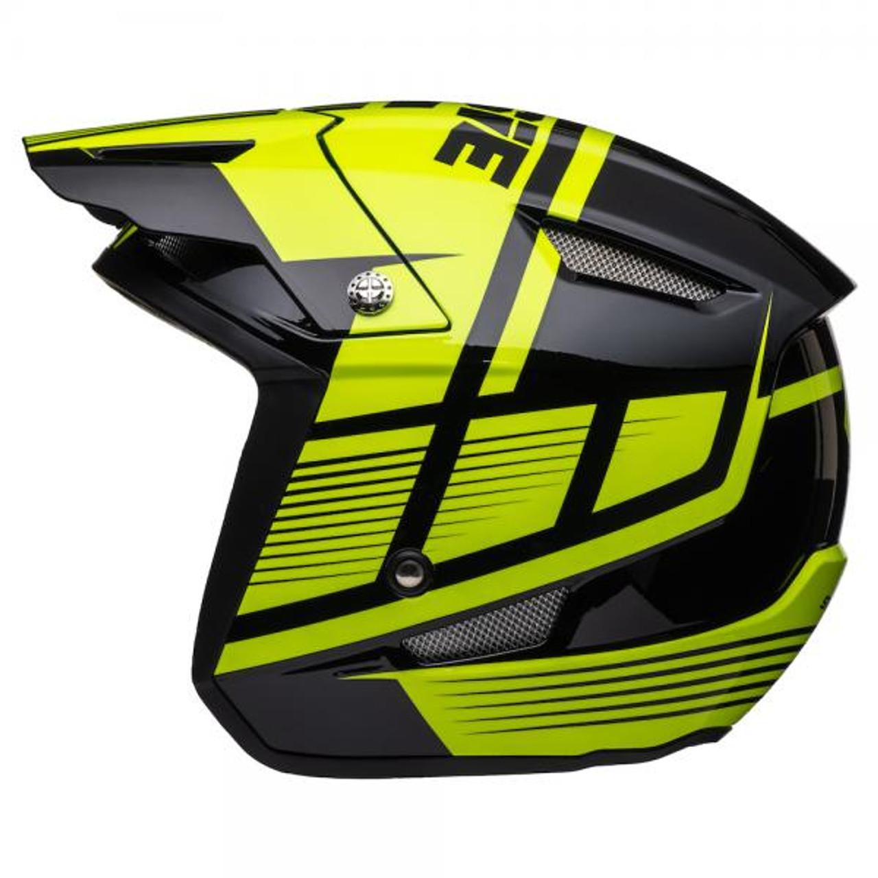 Helmet HT1 Struktur, black/ fluo yellow