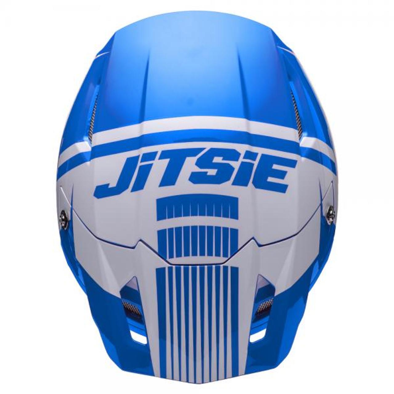 Helmet HT1 Struktur, blue/ white