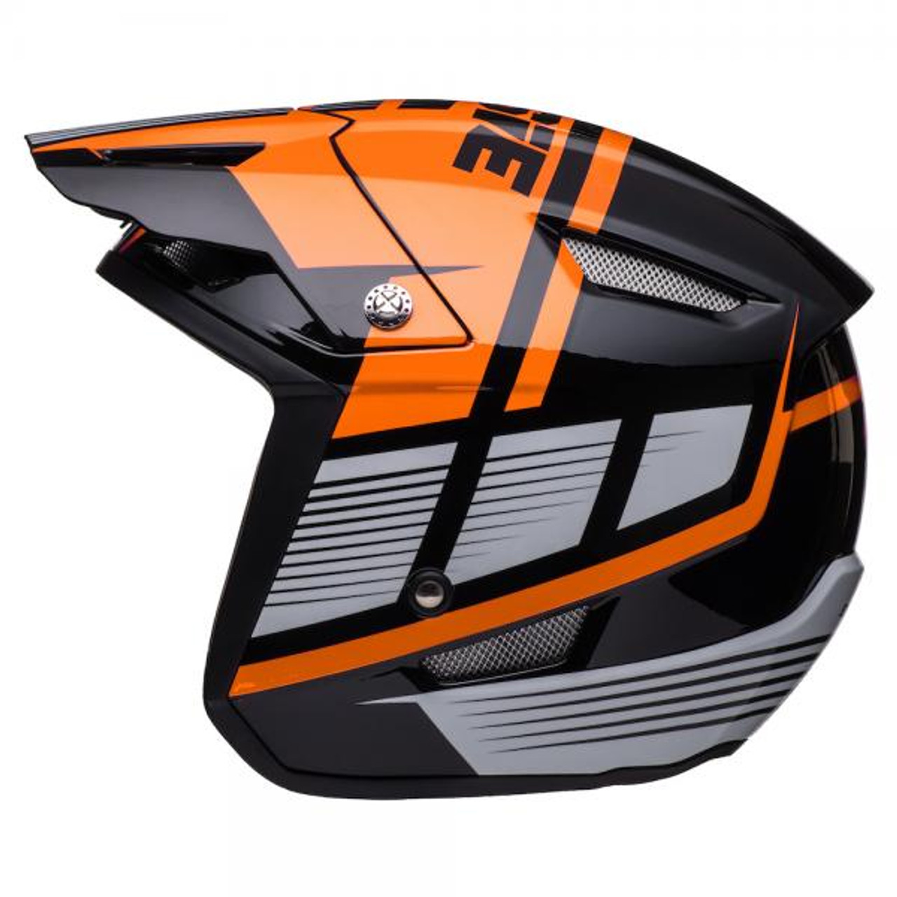 Helmet HT1 Struktur, black/ fluo orange