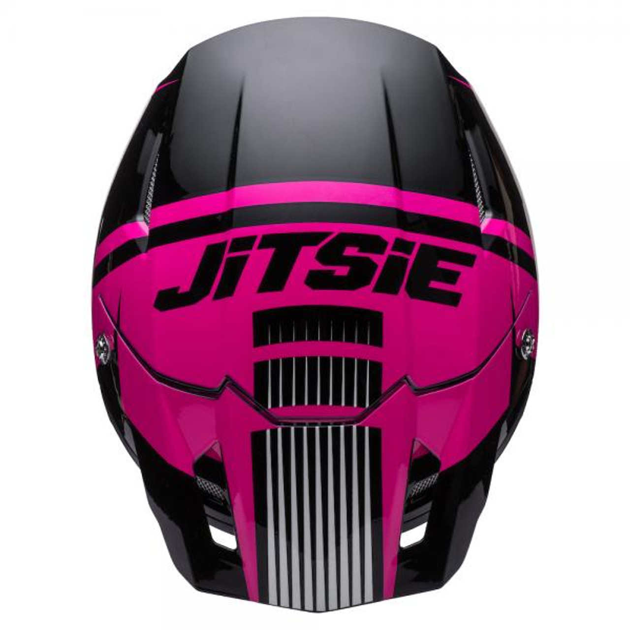 Helmet HT1 Struktur, black/ fluo pink