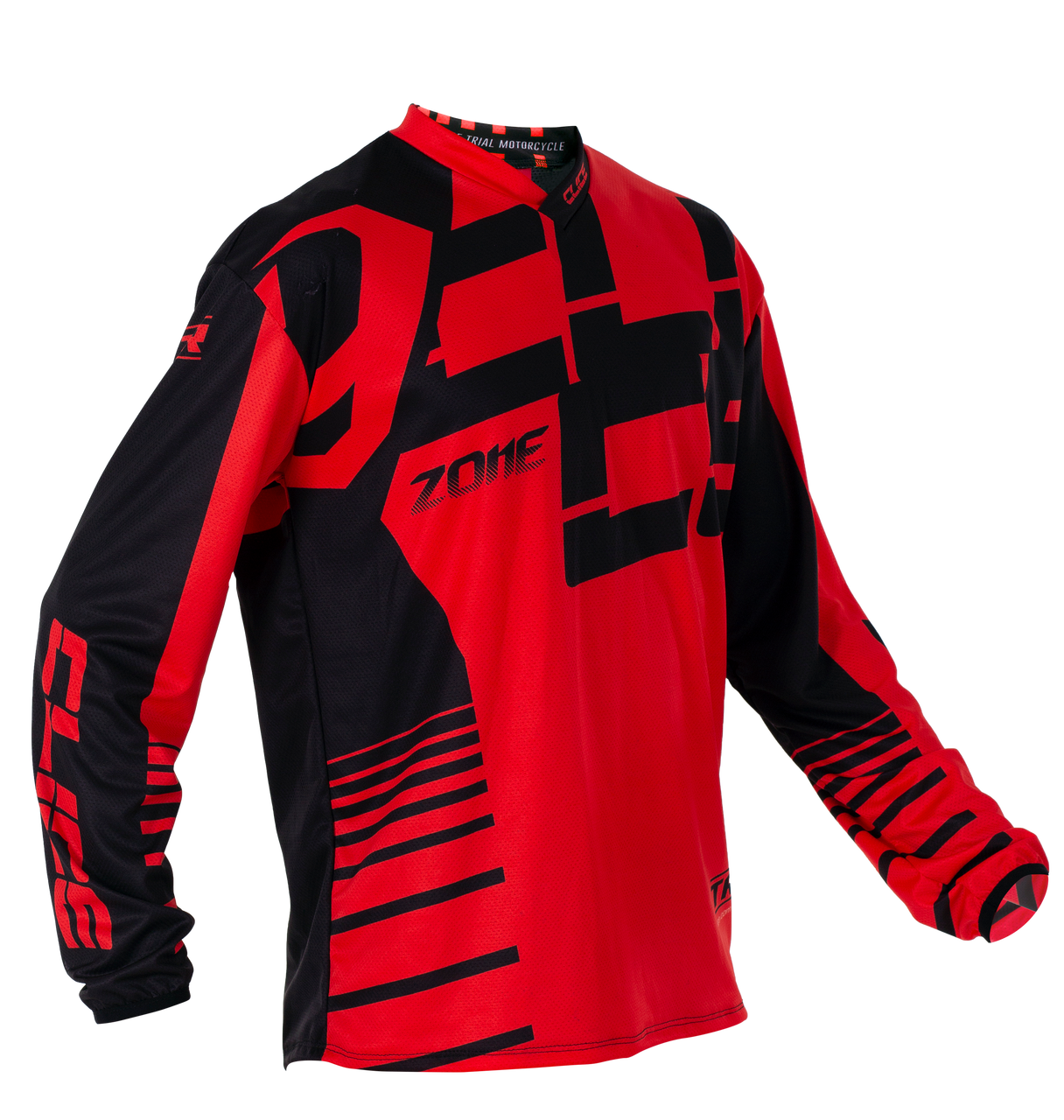 2019 Clice Zone men's jersey, red/black