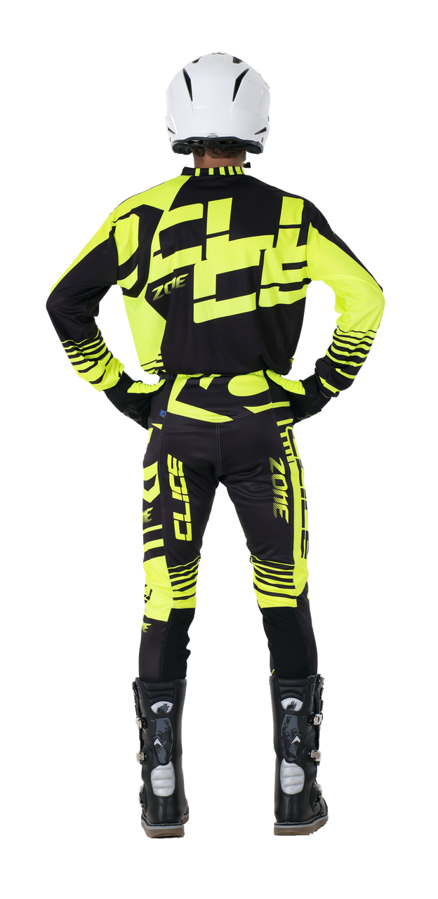 2019 Clice Zone men's jersey, yellow/black