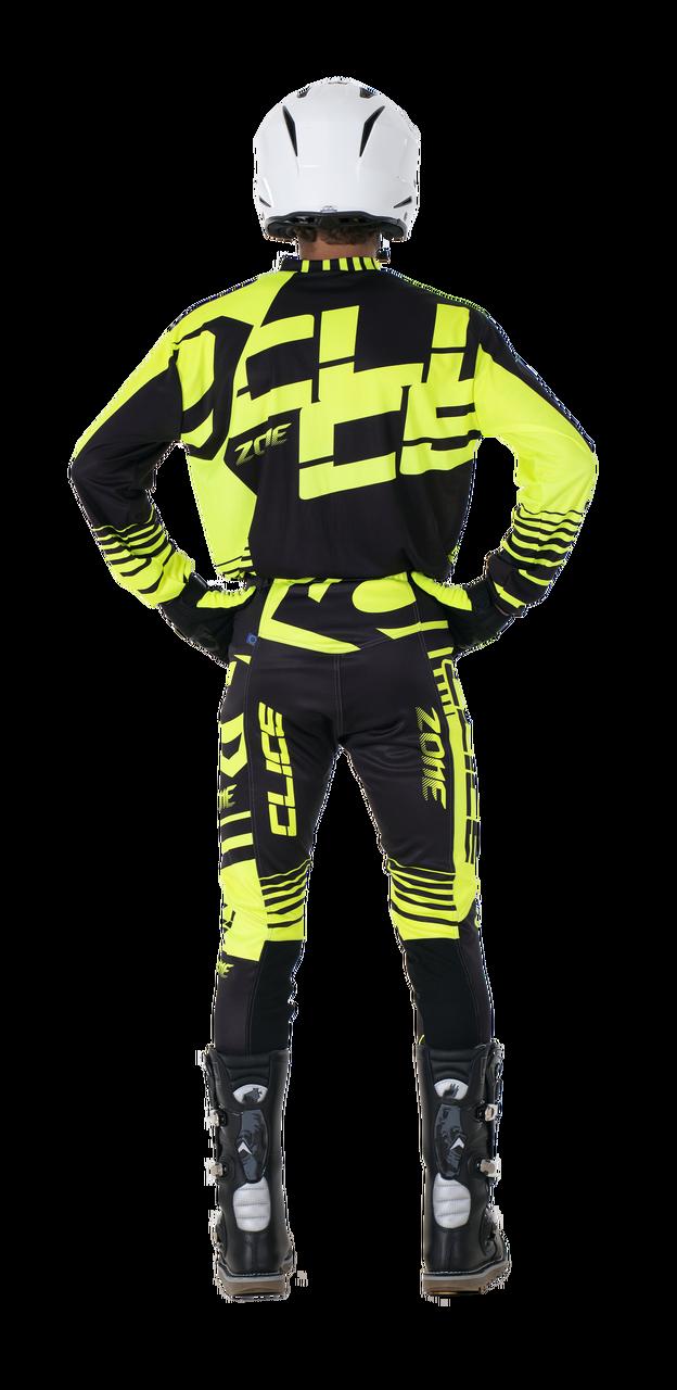 2019 Clice Zone men's jersey, yellow/black