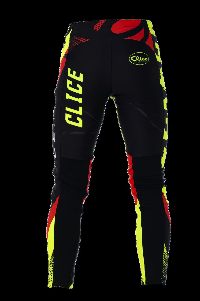 2019 Clice Cero Trial Pants Men, black/fluor