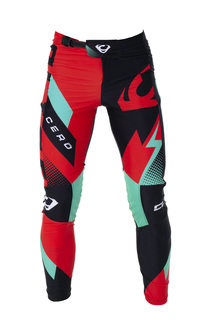 2019 Clice Cero Trial Pants Men, red