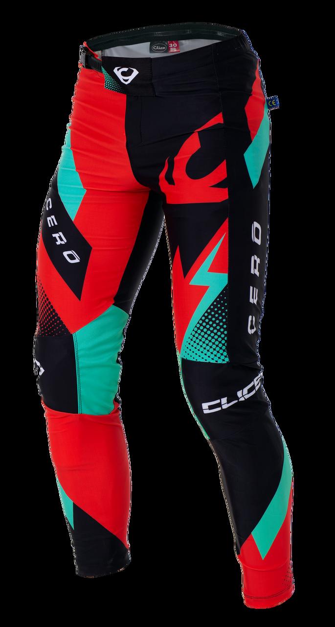 2019 Clice Cero Trial Pants Men, red