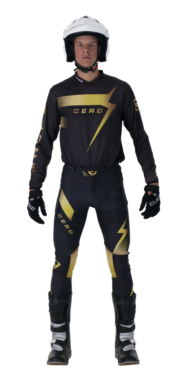 2019 Clice Cero Trial Jersey Men, Gold