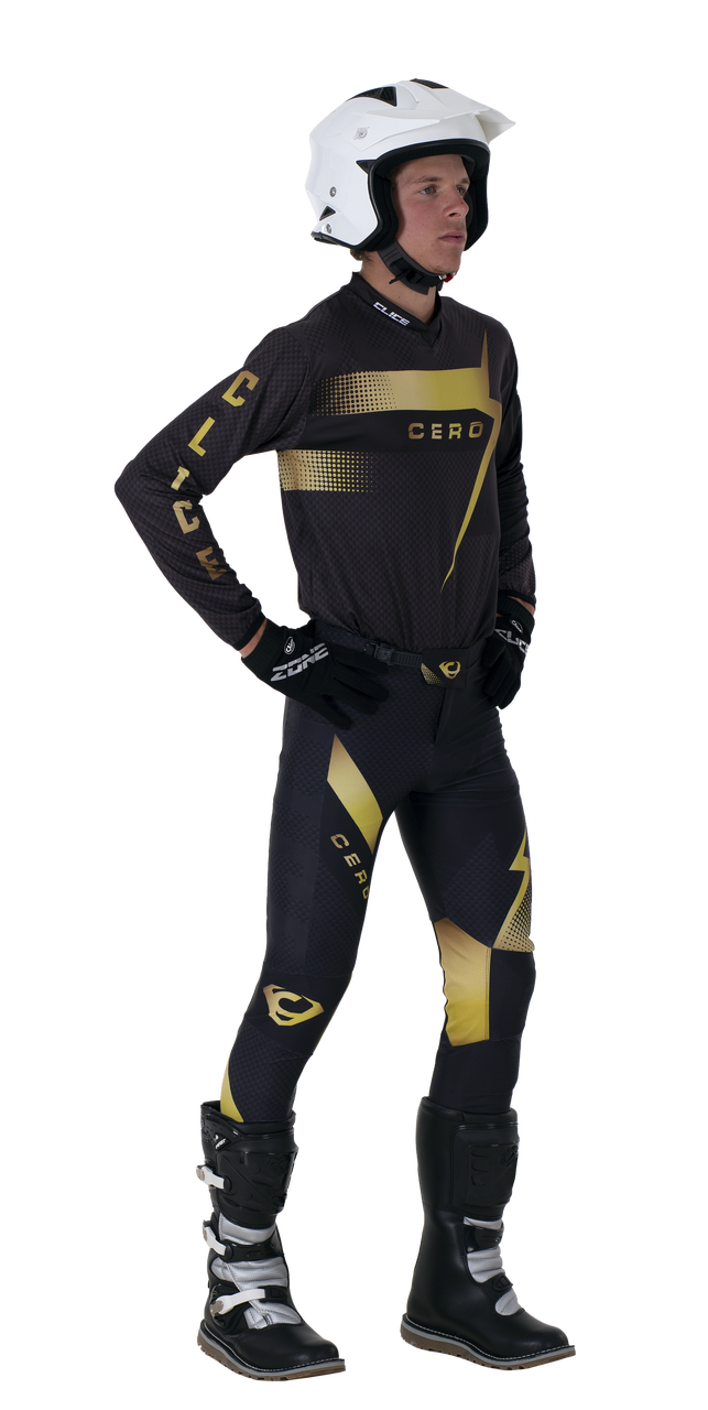 2019 Clice Cero Trial Jersey Men, Gold