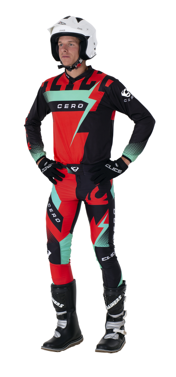2019 Clice Cero Trial Jersey Men, Red