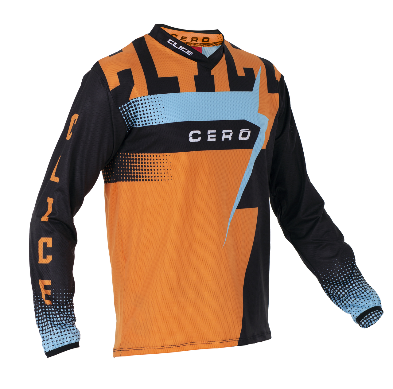 2019 Clice Cero Trial Jersey Men, Orange