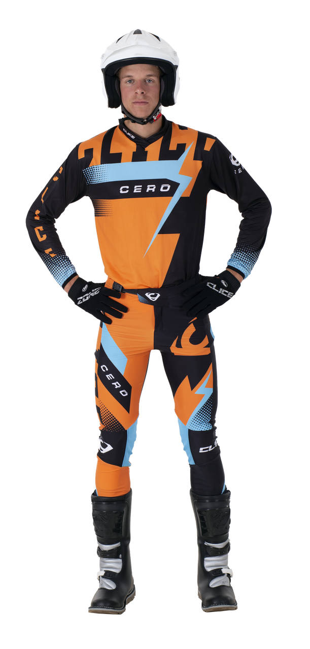 2019 Clice Cero Trial Jersey Men, Orange