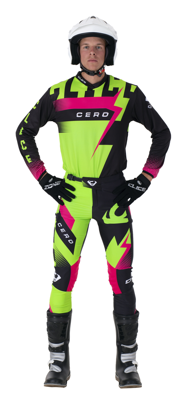 2019 Clice Cero Trial Jersey Men, Green