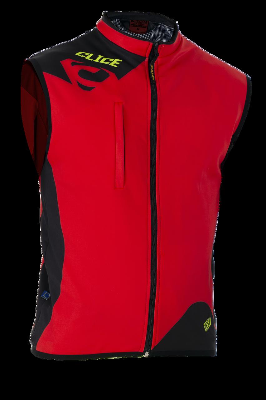 Clice Thermal Spandex Vest 2019, red