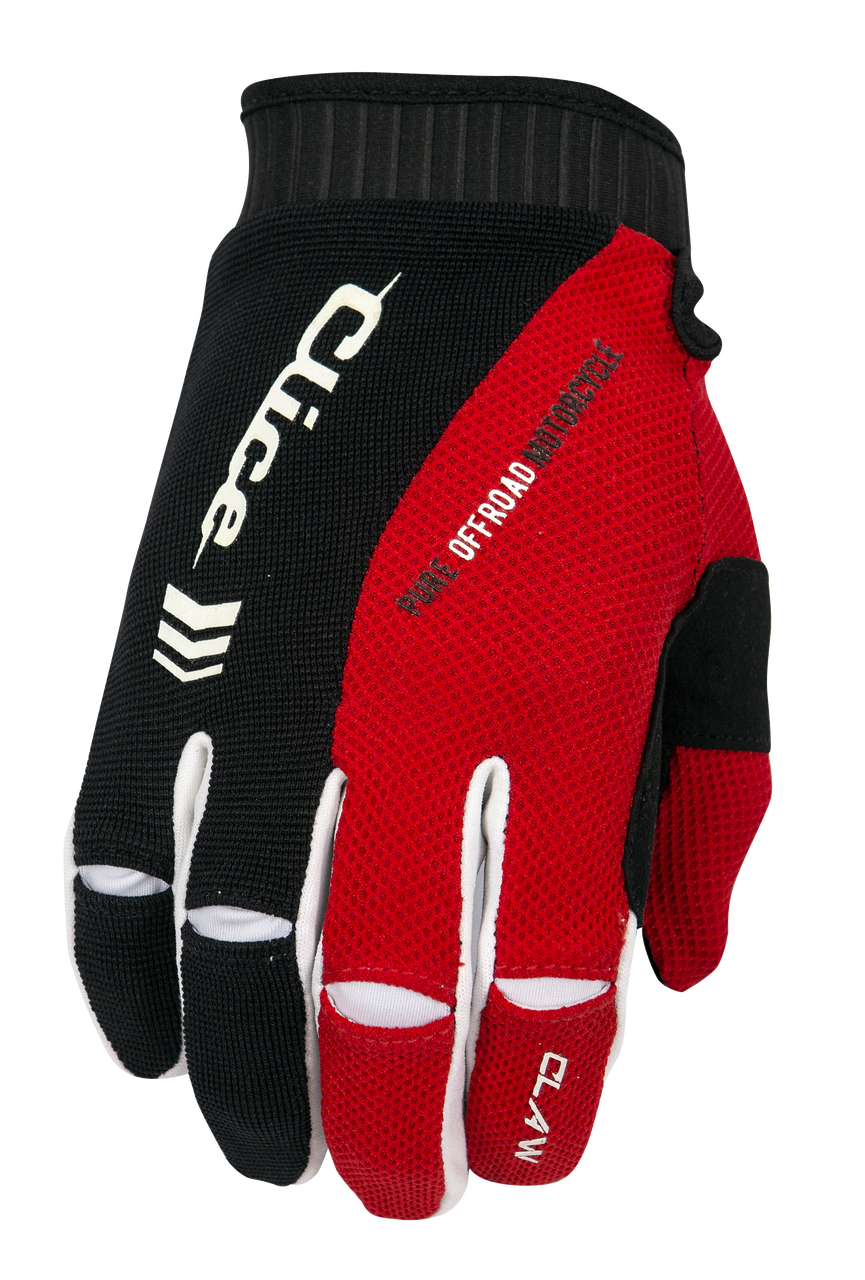 Clice Claw Enduro-MX Gloves, red