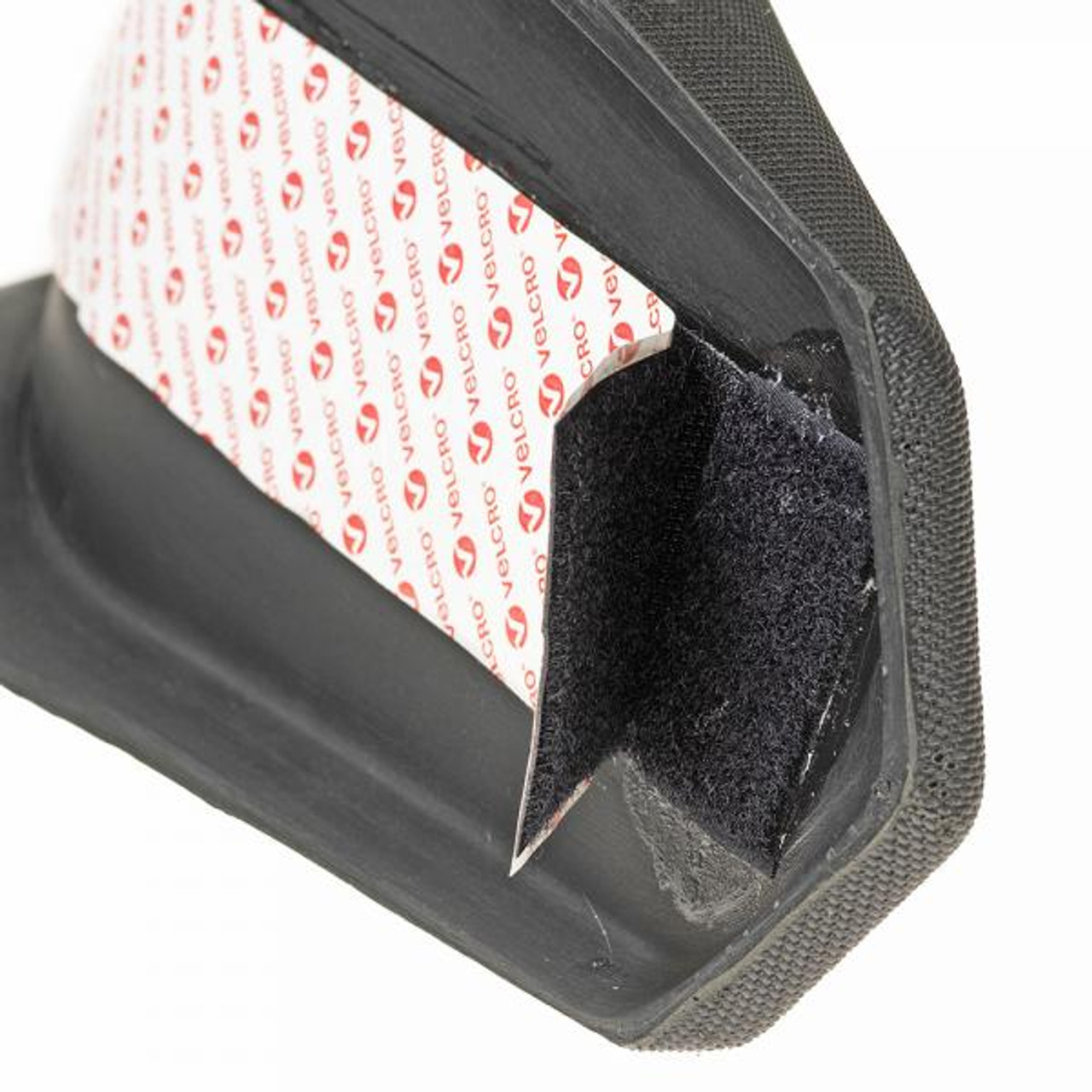Trials bike seat with Velcro