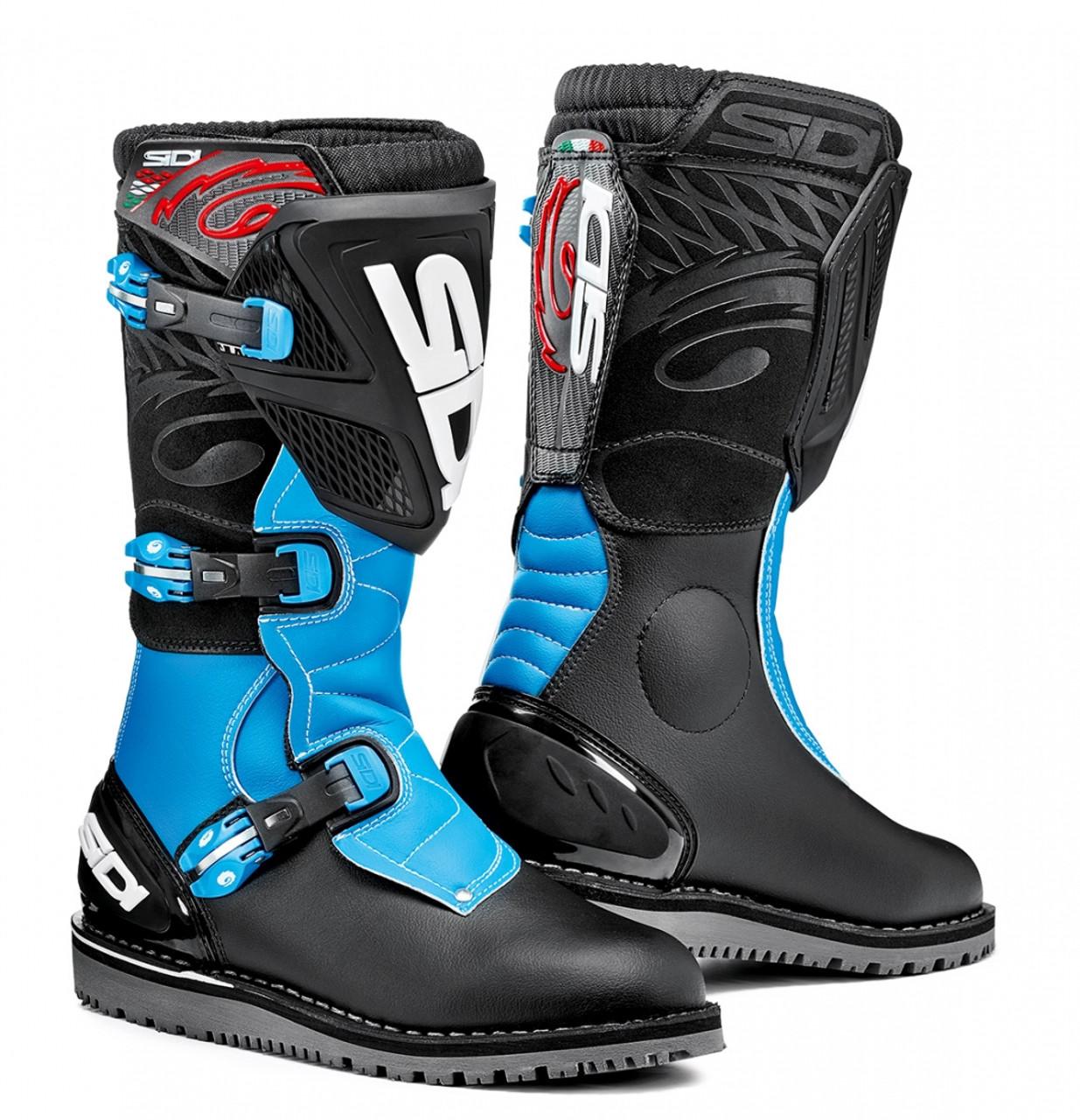Sidi boots - Trial Zero.1 - black/blue