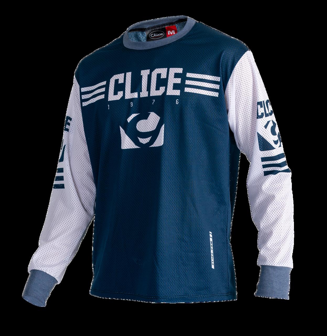 Clice Classic mesh jersey, petrol blue