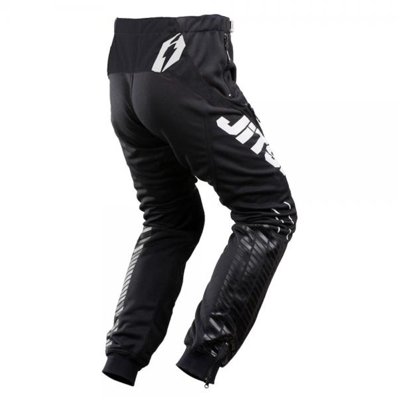 Pants 01 Omnia Solid, black/white