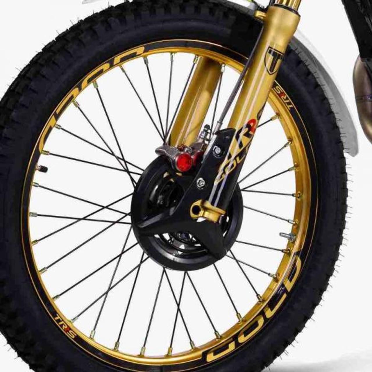 Braktec Front brake caliper 4 pistons monoblock