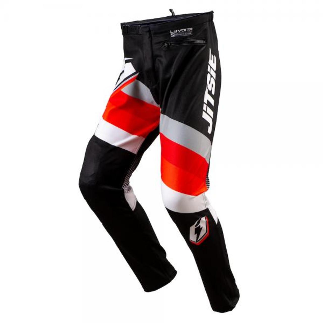 Pants L3 Volta, black/white